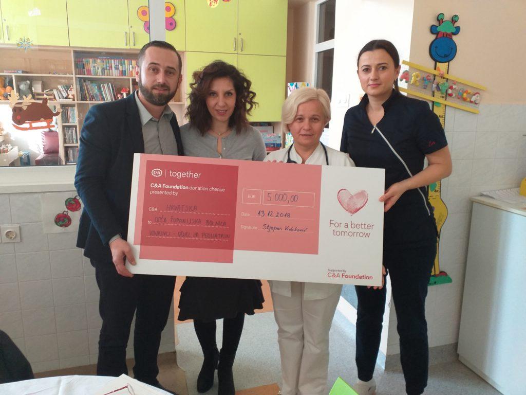 Donacija  vinkovačkoj bolnici